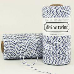 ficelle Divine twine blueberry