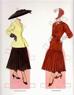 Classic Fashions of CHRISTIAN DIOR by TOM TIERNEY 13 of 17