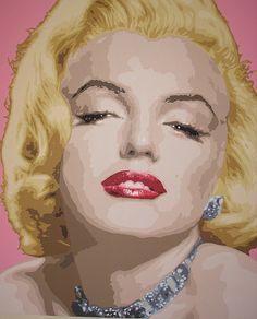 Marilyn Munroe Pop Art