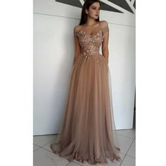 Champagne tull, lace applique sexy luxury ball gown special occasion party dress · prom dress · Online Store Powered by Storenvy Mint Bridesmaid Dresses, Prom Dresses 2017, Prom Dresses Online, Prom Party Dresses, Evening Dresses, Nude Prom Dresses, Graduation Dresses, Dress Prom, Dress Online