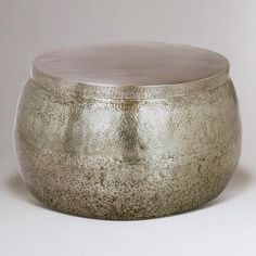One of my favorite discoveries at WorldMarket.com: Cala Hammered Coffee Table