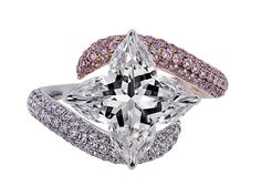 Orchidea Cut® Ring by Lili Jewelry #beauty #love #diamonds #lilidiamonds #orchidea