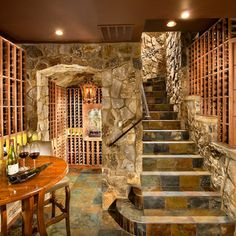 Small Room Wine Cellar Design Ideas, Pictures, Remodel, and Decor - page 6