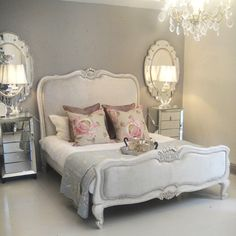 Queen French Shell Bed | Furniture | Beds | Farriers