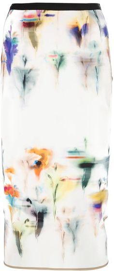 roland mouret Yama Pencil Skirt - Lyst