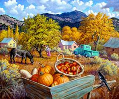 Stephen Morath - Harvesting Apples