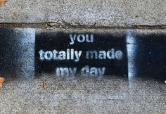 Anonymous Guerilla Artist Graffitis The Streets Of Venice With Positive Affirmations | HooplaHa.com