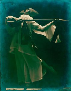 Ted Shawn in Pierrot Forlorn (1917-1918). Photograph by Arthur Kales.