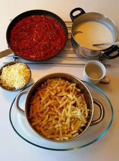 Krämig pastagratäng - ZEINAS KITCHEN Ethnic Recipes, Food, Meals