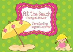 Summer combines two of my favorite activities: reading and going to the beach! In this summer-themed emergent reader, your little ones will learn about the importance of sun safety and having fun in the sun, all while practicing reading and vocabulary skills.