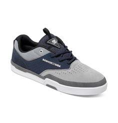 dcshoes, Men's Cole Lite 3 S Shoes, Grey/Blue/Grey (xsbs)