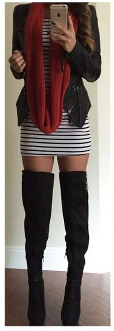 I want this over the knee boots!