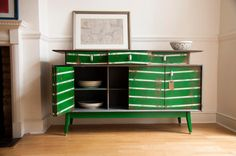 A 1950s sideboard