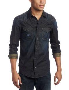 Diesel Men`s Wearny Long Sleeve Shirt $225.00