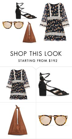 """""""Sin título #5180"""" by ceciliaamuedo ❤ liked on Polyvore featuring Anna Sui, MICHAEL Michael Kors, The Row and Karen Walker"""