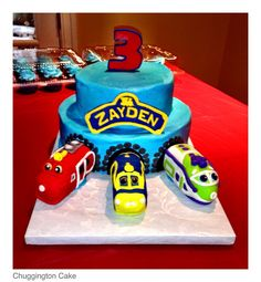 Chuggington Birthday Cake By Olive Parties Kellums Nd Birthday - Chuggington birthday cake