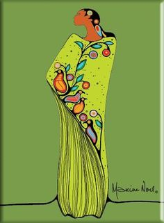 'Spirit of the Woodlands' Magnet Maxine Noel