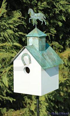 Heartwood Sleepy Hollow Bird House, Horse Heaven at BestNest.com
