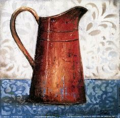 Red Pots II (Patricia Pinto)