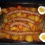 recette tajine merguez pommes de terre façon caragwen