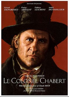 Le Colonel Chabert - 1994 - Depardieu Cinema Film, Cinema Posters, Film Posters, Film Movie, Le Colonel Chabert, 1990s Music, Star Francaise, French People, French Movies