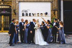 Brewery Wedding Reception, Wedding Receptions, Bridesmaid Dresses, Wedding Dresses, Photo Credit, Photos, Photography, Fashion, Bridesmade Dresses