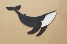 Precut Stained Glass Art Kit Humpback Whale Mosaic Inlay Seascape Garden Stone | eBay