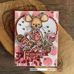 Paper Pawz: All you need is love with Mae the Mouse