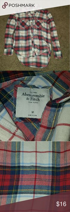 Abercrombie and Fitch Flannel Well made Flannel. Size Medium. Abercrombie & Fitch Tops Button Down Shirts