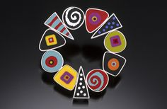 Contemporary Jewelry - Pin (Original Art from susan dyer)