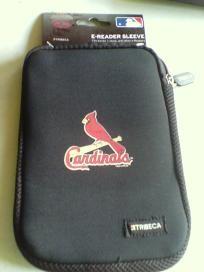 Tribeca MLB St.Louis Cardinals e-Reader Sleeve New Free Shipping