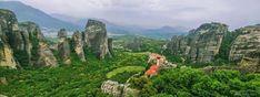 מטאורה צפון יוון Yolo, My Dream, Mount Rushmore, Greece, Mountains, Nature, Travel, Greece Country, Naturaleza