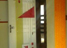 Homemade door design is or your luxury houses, you can choose fancy entrance doors prepared with glass grills or different framing. Door Design Photos, Home Door Design, Glass Panel Door, Glass Panels, Room Doors, Wooden Doors, Tvs, Wood Working, Luxury Homes