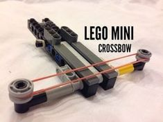 So I& back with another Lego video and this time, it& a mini crossbow., I& back with another Lego video and this time, it& a mini crossbow. Can be used for just pure fun or annoying people. Simple to make, com. Lego Duplo, Lego Technic, Lego Mindstorms, Lego Design, Lego Mini, Technique Lego, Lego Machines, Lego Challenge, Lego Videos