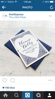 Cute idea for invitations