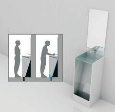 Combination Urinal Concept Surprisingly Blends Sink & Toilet | Designs & Ideas on Dornob