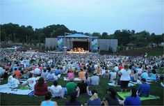 Greensboro's White Oak Amphitheatre, next to the Greensboro Coliseum.  What an amazing place to have in our city, hosting some amazing musical talent. @GSORealEstate