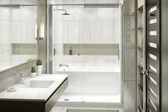 Une douche qui imite la céramique et s'installe en une journée. Des combos bain-douche qui offrent des milliers de possibilités de configuration. Une étanchéité plus...