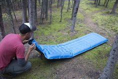 Like the original, the new and improved Windcatcher Air Pad 2 uses our patented rapid inflation technology to inflates in seconds without any power or pumping.