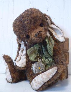 Hershey A Sweet Artist Bunny/Bear by KristinaBears on Etsy, $120.00