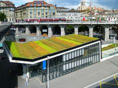 the M2 Metro Station in Lausanne, Switzerland by Bernard Tschumi Architects