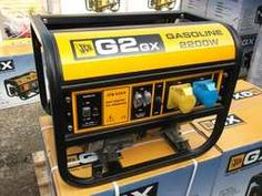 Clearance Line Brand new JCB G2GX petrol generator. These GX range of petrol generators are part of JCB's premium range of products and as such are well made from high quality components. Recoil start OHV engine with low oil pressure shutdown, 110/240v output from 16amp standard industrial type sockets. See below a list of the main features:  2000 watts continuous power/ 2300 watts maximum power.