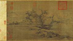 Árboles viejos. Dinastía Song del Norte (960-1127) ca. 1080. Guo Xi (China, ca. 1000-ca. 1090).