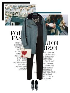 """Broken Heart"" by veronicamastalli ❤ liked on Polyvore featuring rag & bone, Emporio Armani, Miu Miu, Alexander McQueen, Kim Kwang and Moschino"