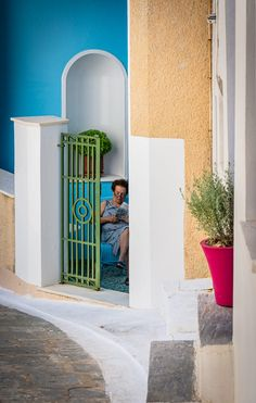 Life in Andros Island, Cyclades, Greece