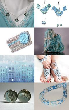 """Powder Blue"" by 1LittleTreasureShop --Pinned with TreasuryPin.com"