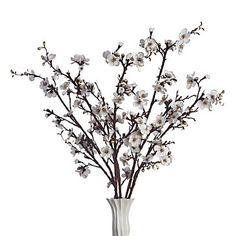 Velvet Blossom Branch - Set of 3 $38.85