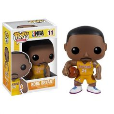 Funko POP! NBA KOBE BRYANT LAKERS Yellow Jersey #11 Vinyl Figure