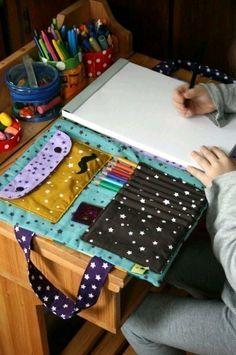 Папка для альбома и карандашей