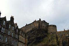 edinburgh castle - Edinburgh  http://www.fatfrocks.com/2017/02/scotland-mini-tour-edinburgh-photo-diary.html